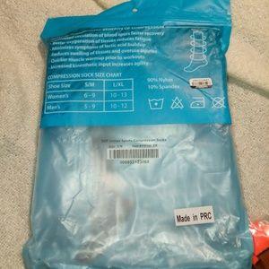 e76bd80e7e dcf Accessories | 6 Pk Unisex Compression Socks | Poshmark